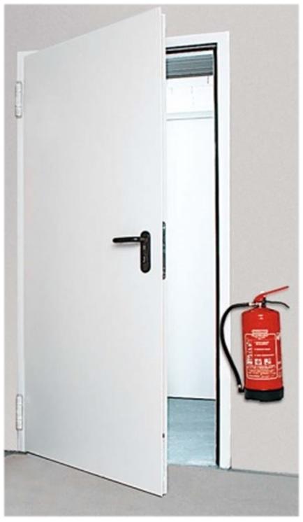 Akcija priešgaisrinės durys