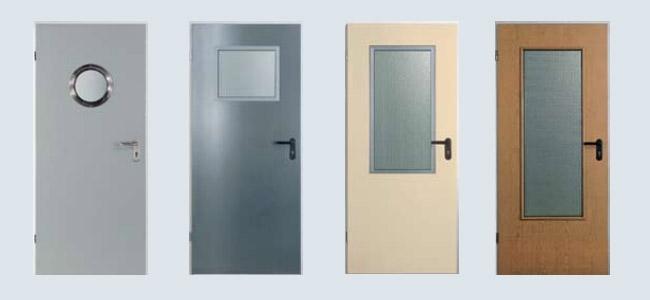 Plieninės vidaus durys ZK