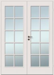 Viljandi dažytos durys Sile-10R+10R